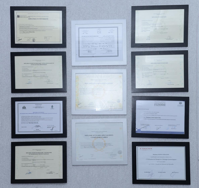 Les diplômes universitaires - Dr Oukacha Nadia