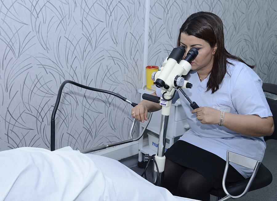 la colposcopie - Docteur Oukacha Nadia
